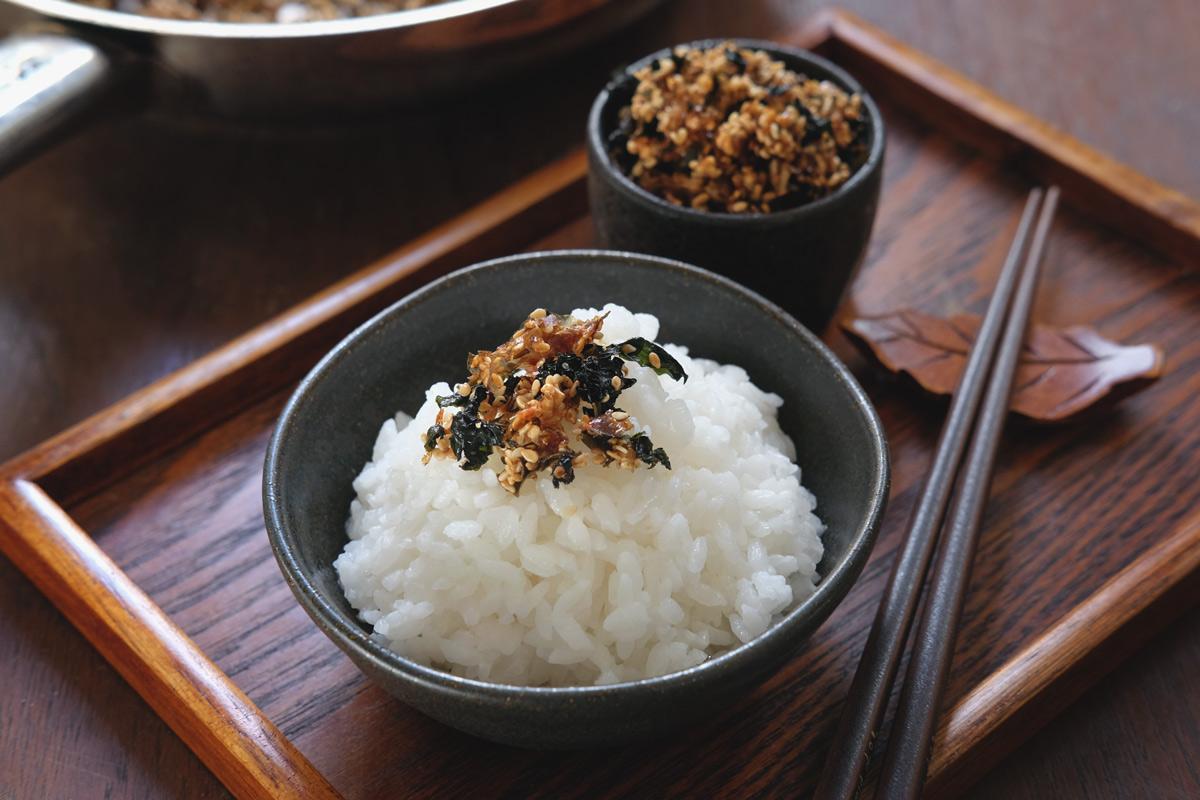 אורז יפני עם פוריקקה